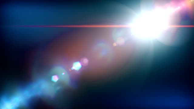 Bright lens flare background