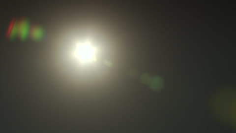 a bright light casts lens flares. - lens flare stock videos & royalty-free footage