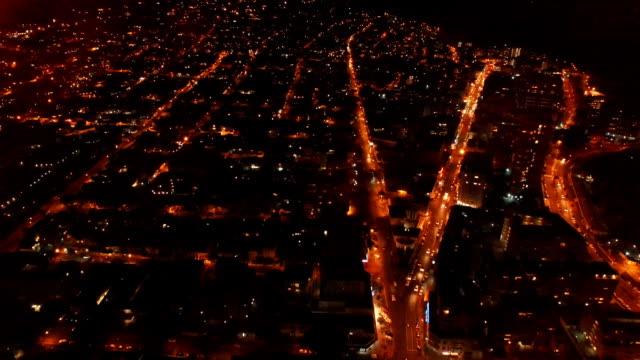 ブライトライツ、大街 - ヘリコプター点の映像素材/bロール
