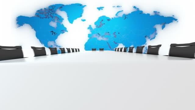 vídeos de stock, filmes e b-roll de brilhante de reunião - mesa de reunião