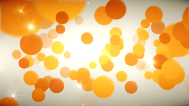 Bright Orange Background (Loopable)