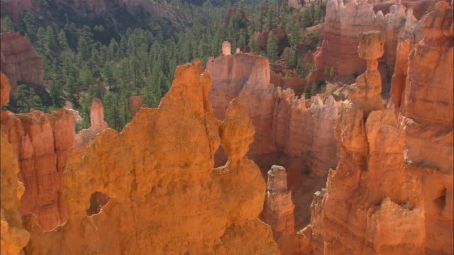 Bright red hoodoos Available in HD.