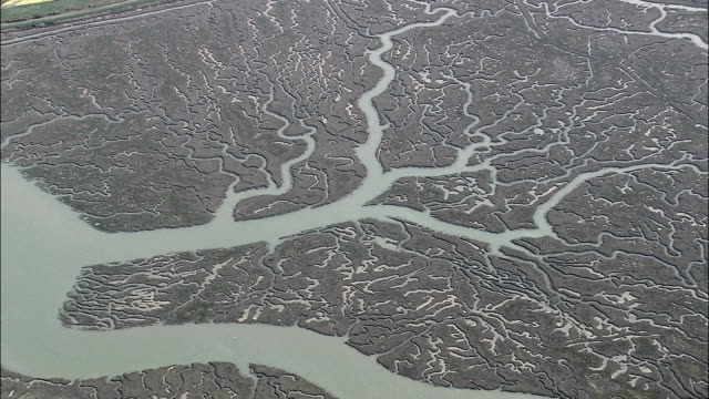 Brightlingsea And Estuary  - Aerial View - England, Essex, Tendring District, United Kingdom