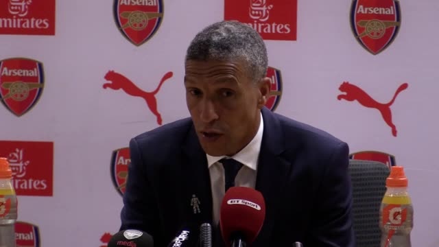 Brighton boss Chris Hughton reflects on Brighton's 20 Premier League defeat at Arsenal Goals from Nacho Monreal and Alex Iwobi earned the Gunners...