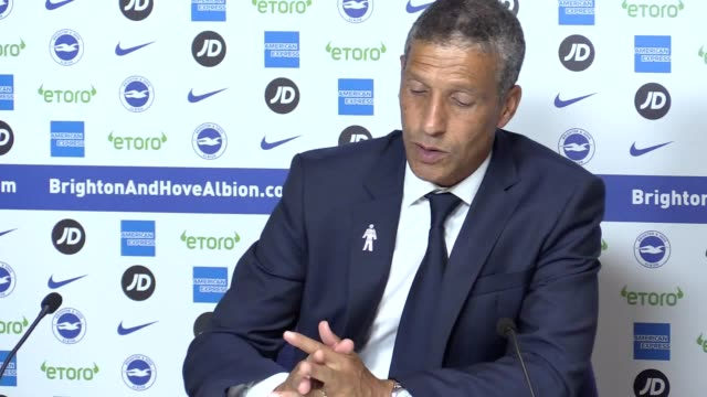 Brighton boss Chris Hughton reflects on his side's 32 Premier League victory over Manchester United Firsthalf strikes from Glenn Murray Shane Duffy...