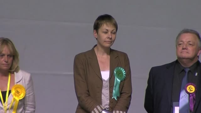 Brighton Pavillion elects Caroline Lucas as the UK's first Green Party MP UK 7 May 2010