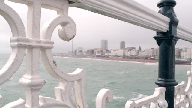 brighton pier - stone object stock videos and b-roll footage