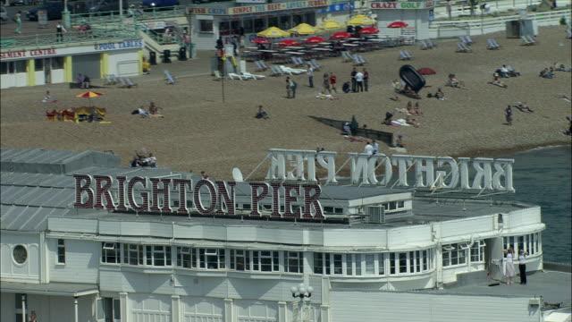 brighton pier - brighton england stock videos & royalty-free footage