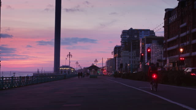 Brighton Seafront at Dusk
