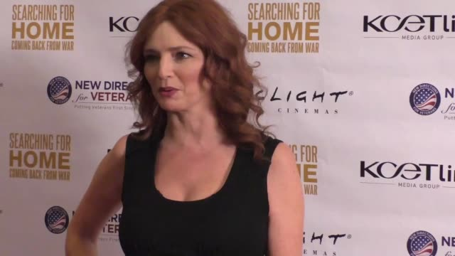 Brigid Brannagh at The Cast Of Lifetime Television's Army Wives Reunites For Searching For Home Coming Back From War at Arclight Theatre in Sherman...