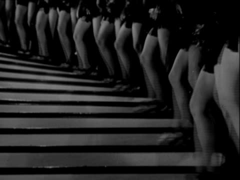 bring on the dancing girls - matching outfits stock videos & royalty-free footage