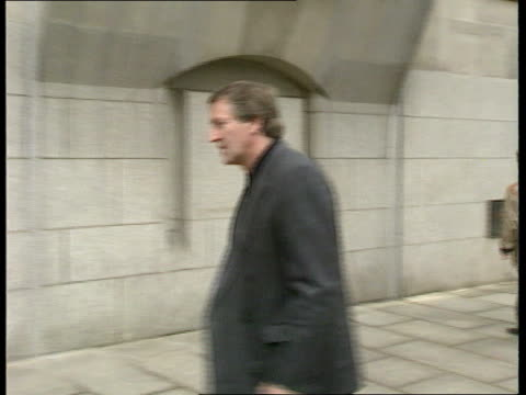 four sentenced england london ms brian perry along to court pan cms jean savage intvwd ms gordon parry with others - mat stock videos and b-roll footage