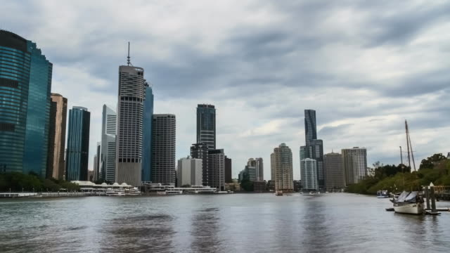 Brisbane CBD Timelapse from Kangaroo Point.