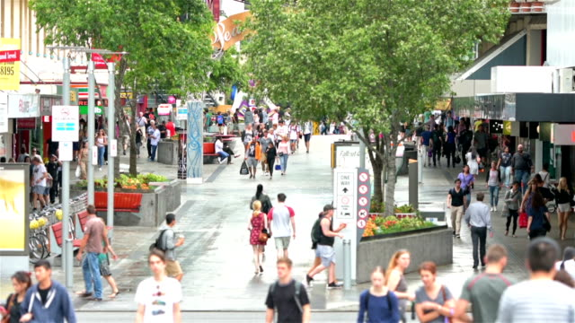 brisbane city center albert street - traditionally australian stock videos & royalty-free footage