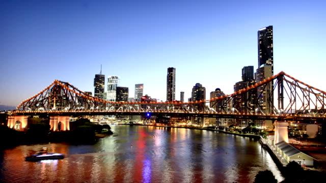 Brisbane Story Bridge and Skyline
