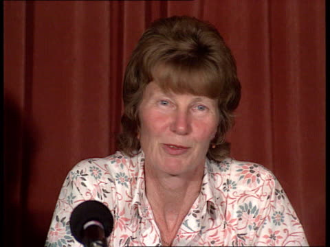 aftermath bristol animal rights bomb attack aftermath margaret baskerville wiltshire bomb victim speaking at pkf bristol university signs don... - bristol university stock videos and b-roll footage