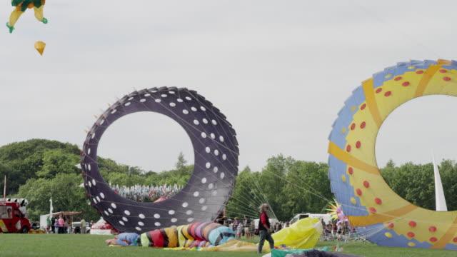 bristol kite festival - bristol england stock videos and b-roll footage