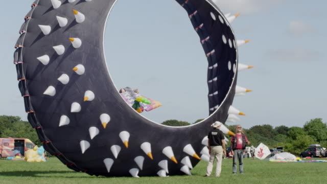 bristol kite festival - comparison stock videos & royalty-free footage