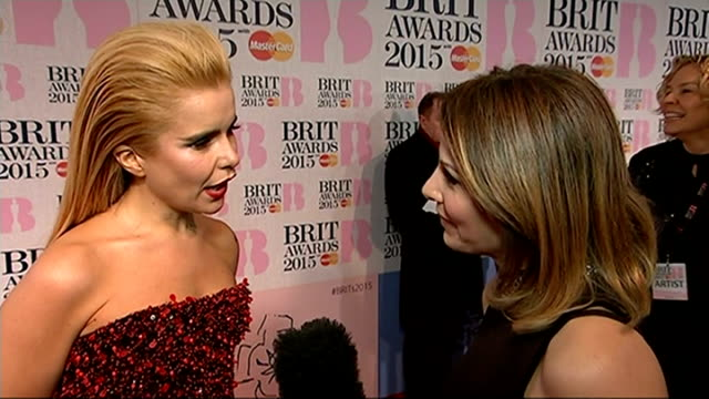 Madonna falls off stage Paloma Faith interview SOT