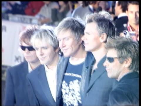 brit awards nominations; music band duran duran posing for photocall - duran duran stock videos & royalty-free footage