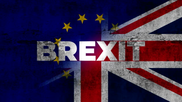 britain and eu mixed flag. brexit-england referendum - uk stock videos & royalty-free footage