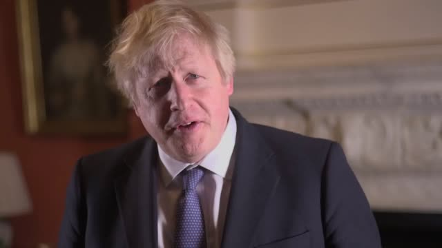 britain can look forward to a decade of prosperity and opportunity ahead as it finally ends the rancour and uncertainty of brexit boris johnson has... - message stock videos & royalty-free footage