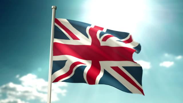 4K Britain Flag