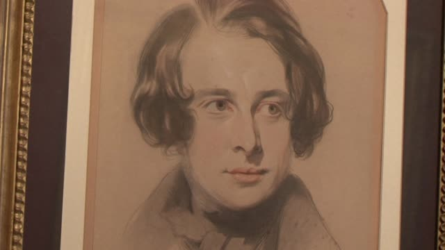 vídeos y material grabado en eventos de stock de britain on tuesday marks the 200th anniversary of the birth of charles dickens, acclaimed as one of the finest writers of the english language and... - literature
