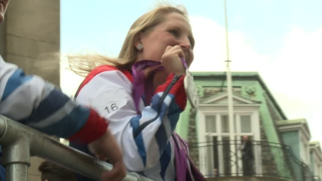 Britain said goodbye to a golden summer of Olympic and Paralympic sport with a victory parade by athletes through London ending up at Buckingham...