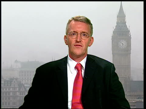 britain sends emergency supplies 2 way exwestminster int hilary benn mp interview sot there's been a real problem / international response has been... - infestation stock videos & royalty-free footage