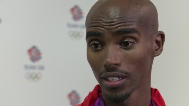 britain's double gold medalwinning athletics hero mo farah says he was amazed when usain bolt imitated his headonhands celebration known as 'the... - bolt stock videos & royalty-free footage