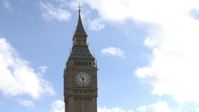 britain's economy will grow by 15 percent this year the oecd forecast wednesday after downgrading its previous estimate for gdp expansion of 17... - oeec video stock e b–roll