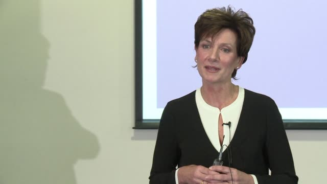 britain's eurosceptic uk independence party is thrown into turmoil as its leader diane james quit citing personal and professional reasons for... - diane james politik stock-videos und b-roll-filmmaterial