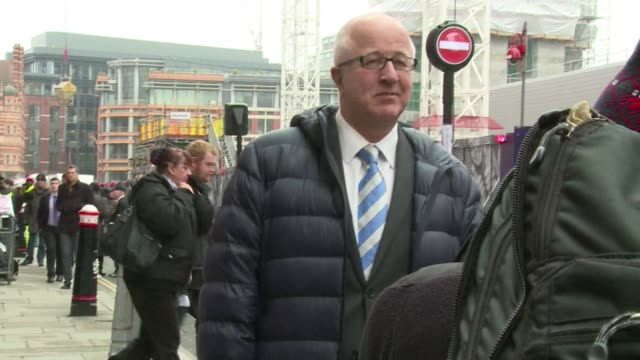 britains former europe minister denis macshane faces jail after pleading guilty monday to falsely claiming thousands of pounds in parliamentary... - assertiveness stock videos & royalty-free footage