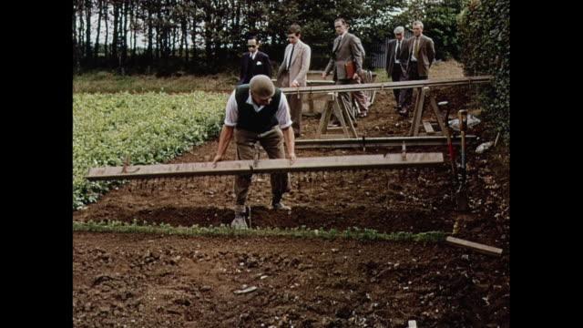 vídeos y material grabado en eventos de stock de montage britains largest tree nursery - bieldo equipo agrícola