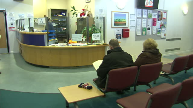 britain's leading gp has said patients may have to wait up to a month to see their family doctor because of the strain on services the chair of the... - general practitioner stock videos & royalty-free footage