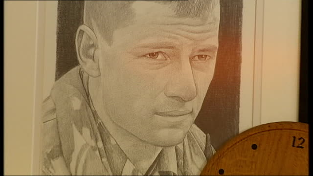 Britain's Lost War Families claim poorly protected vehicles led to soldier deaths Location Unknown Sketched portrait of Trooper Jack Sadler on...