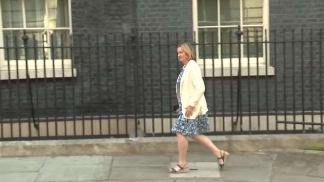 britain's new cabinet meets at downing street for the first meeting chaired by newly appointed prime minister boris johnson - cupboard stock videos & royalty-free footage