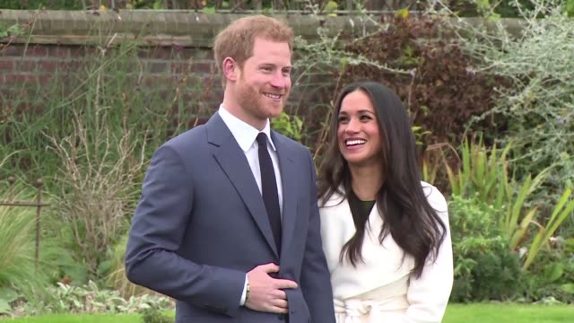 britain's prince harry and actress meghan markle will marry on may 19 at st george's chapel in windsor castle near london kensington palace says - chapel stock videos & royalty-free footage