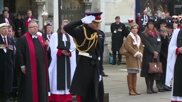 britain's prince harry visits the field of remembrance at westminster abbey ahead of the 100th anniversary of the end of world war i - anniversary stock videos & royalty-free footage
