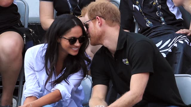 britain's prince harry will marry his us actress girlfriend meghan markle early next year after the couple became engaged earlier this month clarence... - actress stock videos & royalty-free footage