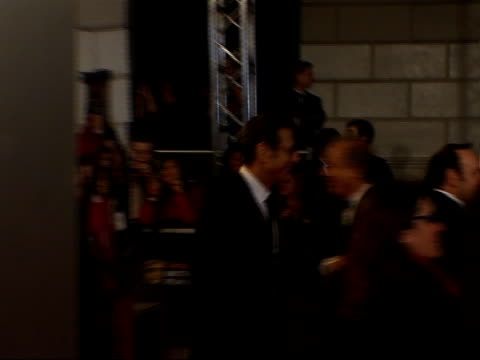 British Academy Film and Television Awards Arrivals and interviews Jeff Goldblum and Kevin Spacey passing