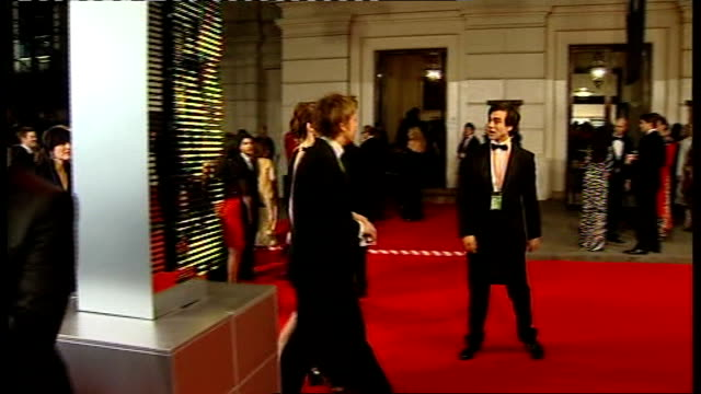 british academy film and television awards: red carpet arrivals and photocalls; jamie oliver and wife jools - jamie oliver stock videos & royalty-free footage