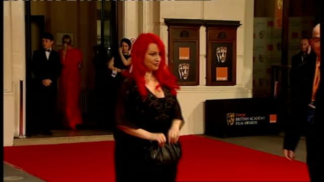 british academy film and television awards: red carpet arrivals and photocalls; jane goldman - ジェーン ゴールドマン点の映像素材/bロール