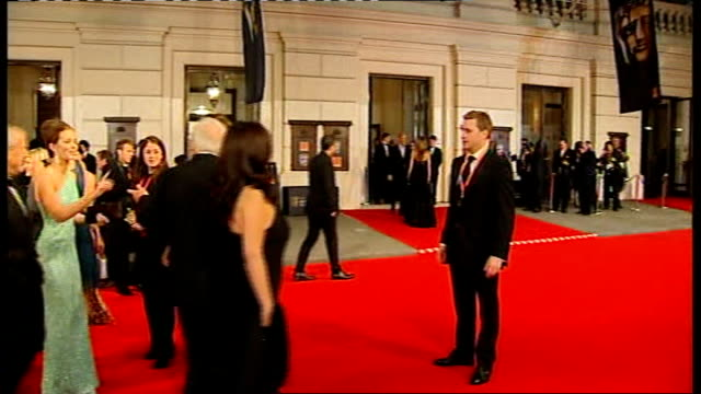 British Academy Film and Television Awards Red carpet arrivals and photocalls Sir Anthony Hopkins and wife Stella Arroyave