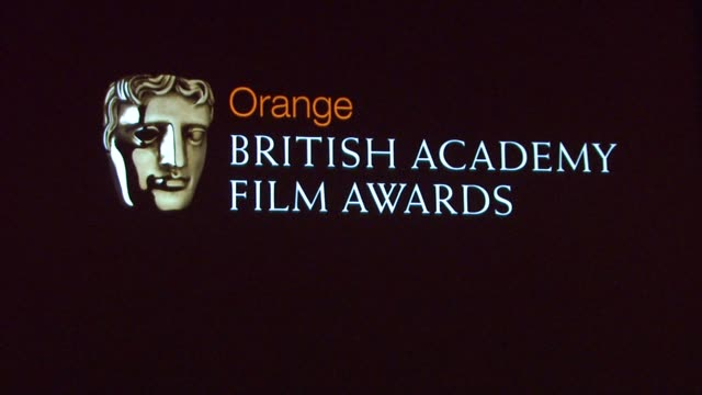british academy film awards at the 2010 orange bafta nominations at london england - event capsule stock videos & royalty-free footage