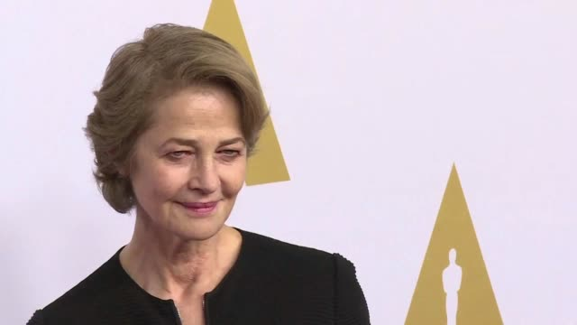 british actress charlotte rampling will receive an honorary golden bear and a tribute in february at the upcoming berlin film festival - charlotte rampling stock videos & royalty-free footage