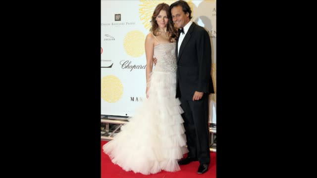 british actress liz hurley's four-year marriage to indian businessman arun nayar ended in divorce wednesday amid continued speculation about her... - greater london stock videos & royalty-free footage