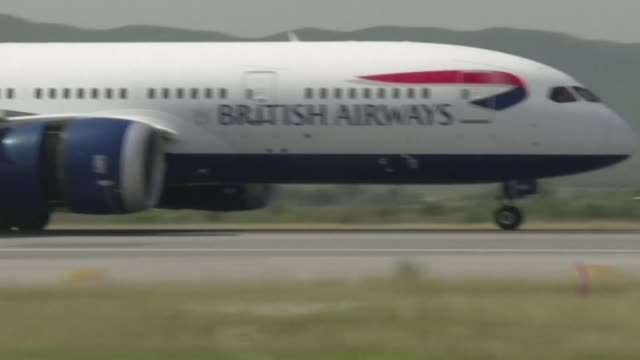british airways has been fined more than £183 million after computer hackers last year stole bank details from hundreds of thousands of passengers - data breach stock videos and b-roll footage