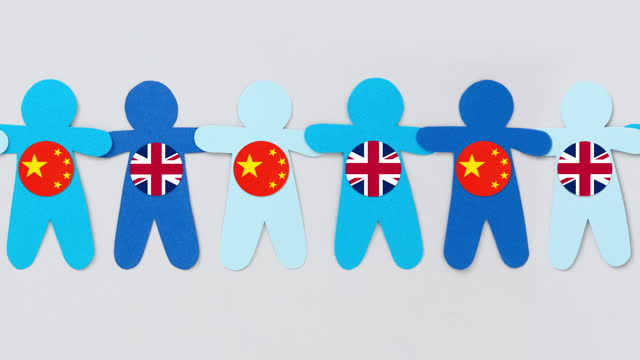 british and chinese boys - puppet stock videos & royalty-free footage